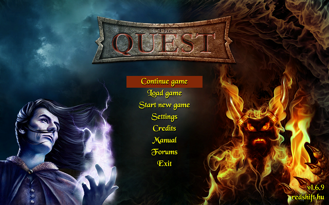 Quest - Main Menu
